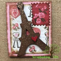 Valentines Shadowbox from Foundations Decor