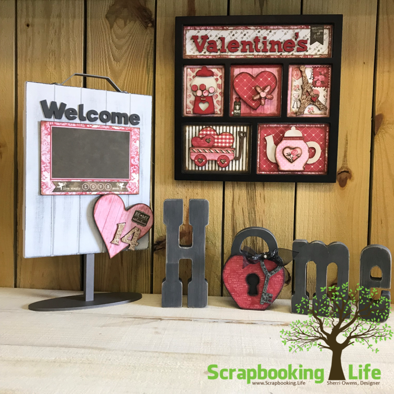 Valentines with Foundations Decor