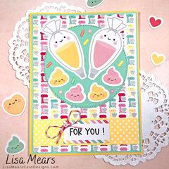 "Doodlebug Design ""Made with Love"" 25 Cards"