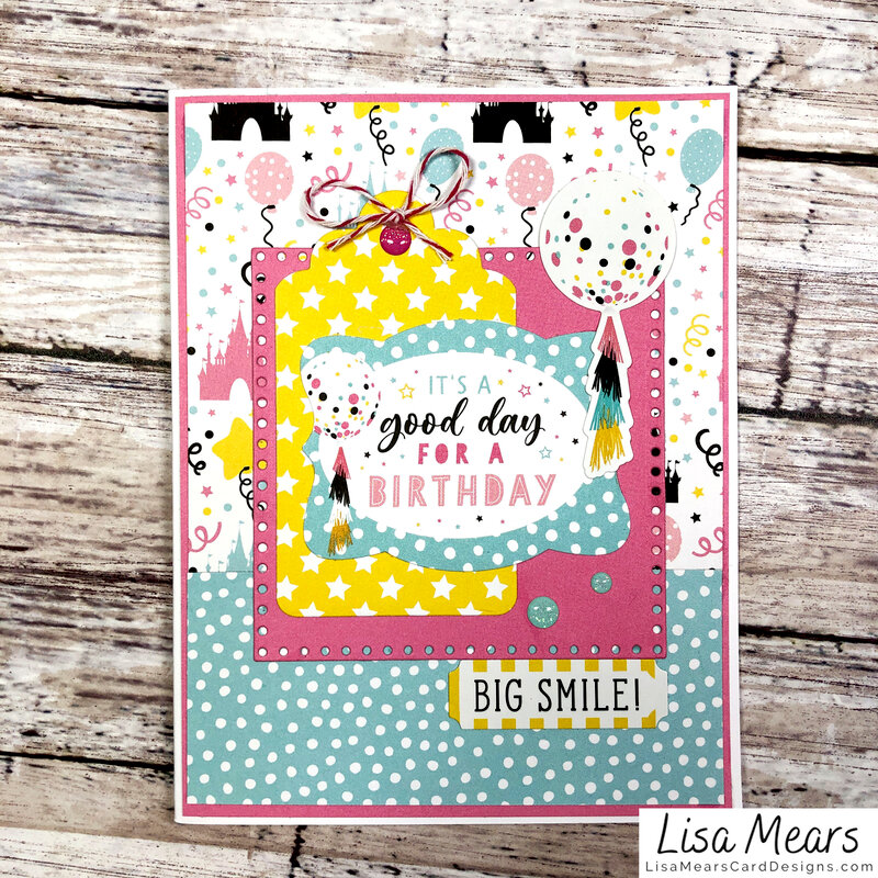 12 Cards - Echo Park Magical Birthday Girl Collections