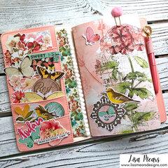 Decorating a Traveler's Notebook