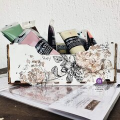 Re-design Handwritten Note Decor Stamp Storage Box by Ksenia Vesnina