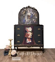 Re-design New release Decoupage Mulberry Paper Royal Garden Project by Calle�s ReDesigns