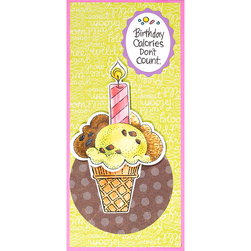POP Ice Cream Candle