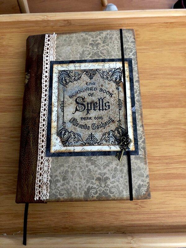 Spell book junk journal