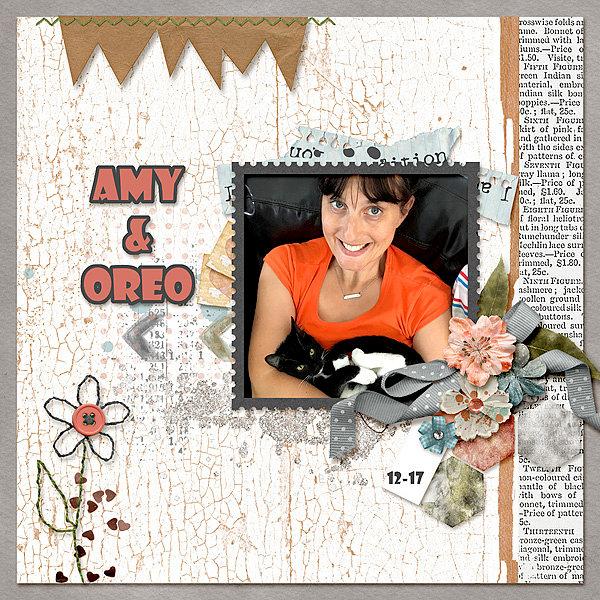 Amy & Oreo
