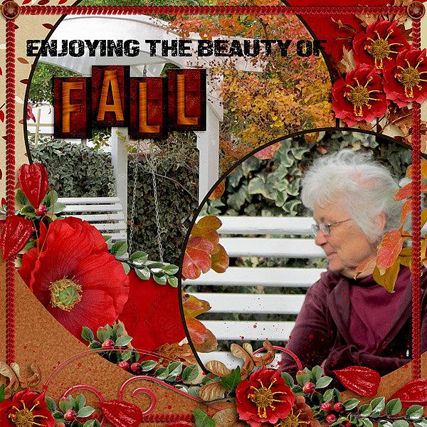 Enjoying the Beauty of Fall