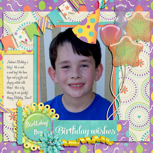 Happy Birthday Drew