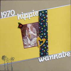 1970 Hippie Wannabe