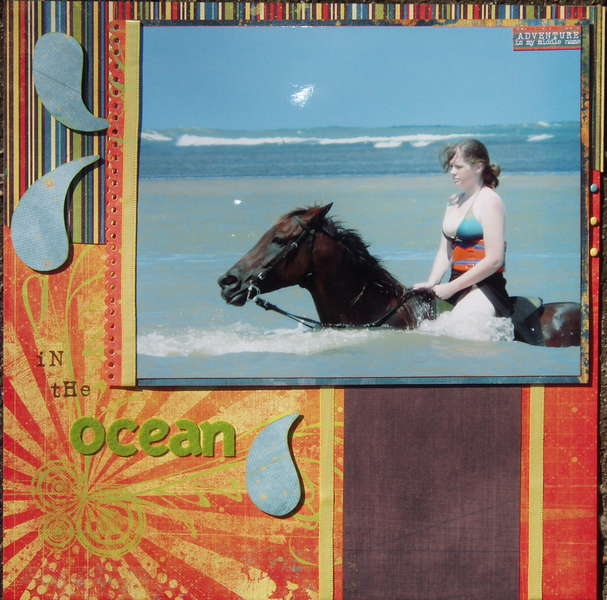 We Did it Bareback in the Ocean (right side)