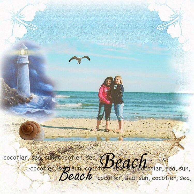Beach, Sea, and Sun