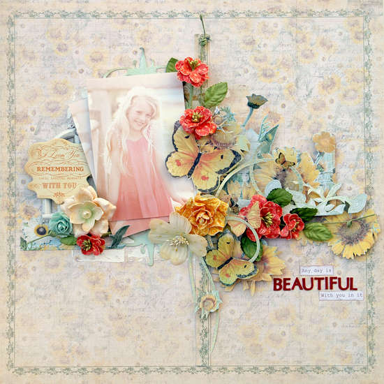 **Prima** April BAP - Any day is beautiful with you in it