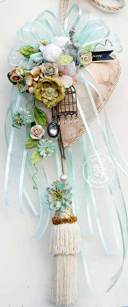 Decor Heart - **Prima Flower Feature**