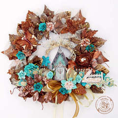 Fall Wreath {Prima PPP}