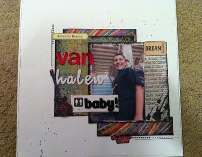 Van Halen baby!!
