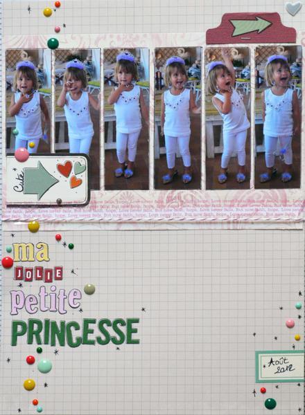 Ma jolie petite princesse