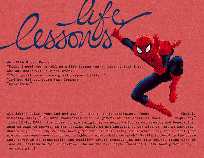 Life Lesson #6: With Great Power