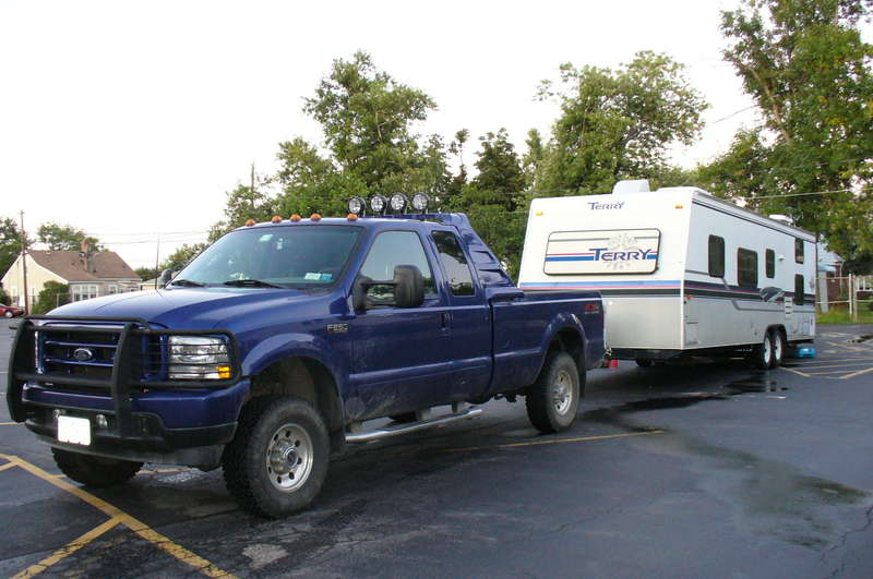 Trailer with Truck