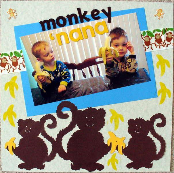 monkey 'nana