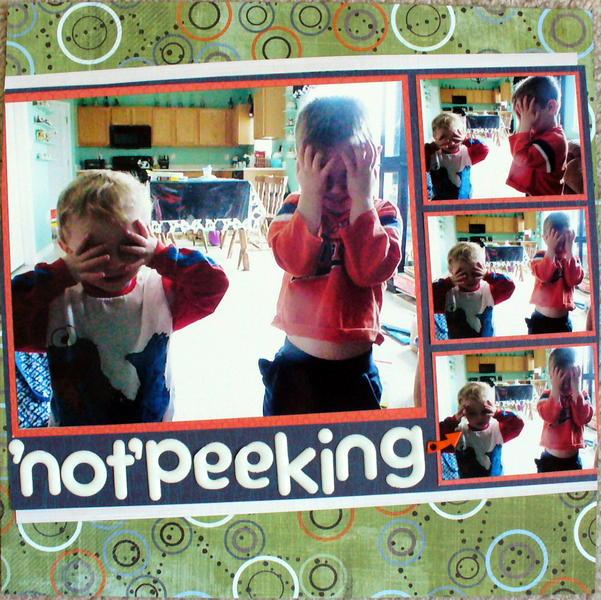Not Peeking