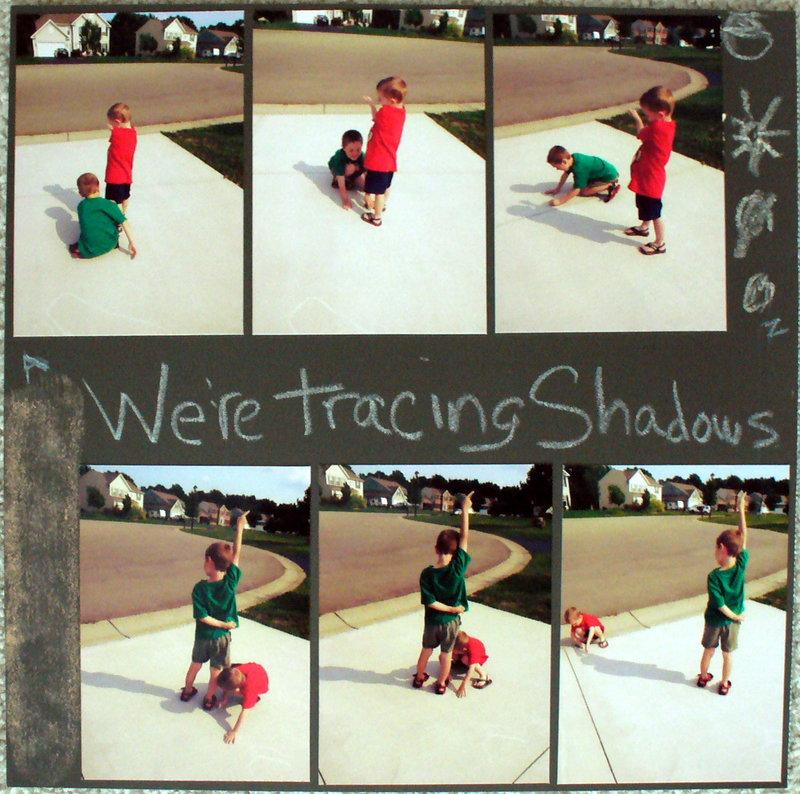 tracing shadows