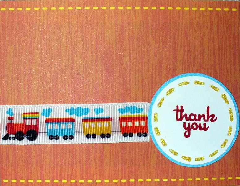Train Thank you