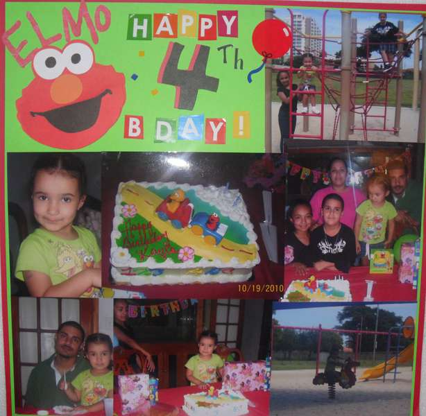 Elmo Birthday!
