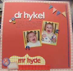 Dr Hykel or Mr Hyde?