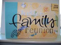 Family Reunion 6x6 Album