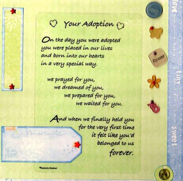 Your Adoption