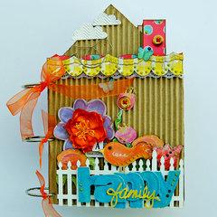 Happy Family Mini Album...My Creative Scrapbook
