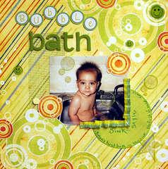 Bubble Bath....sink style