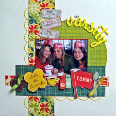 The Varsity...My Scrapbook Nook's June Kit