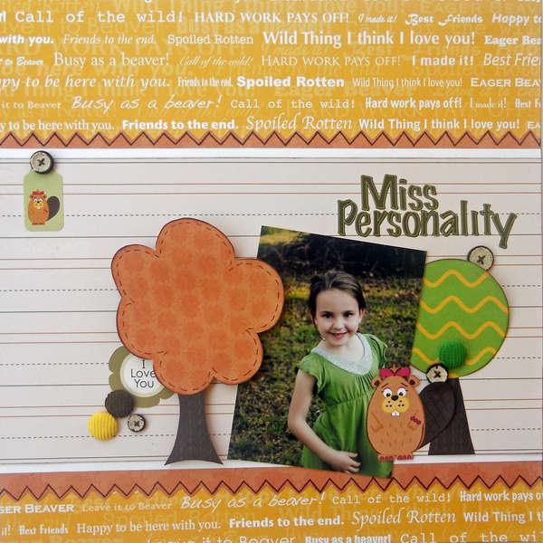 "Miss Personality...""Nikki Sivils"""