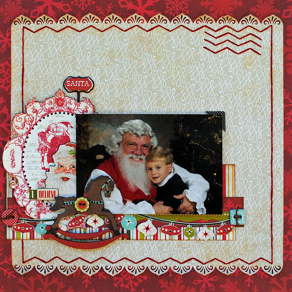 "Santa...""My Creative Scrapbook"""