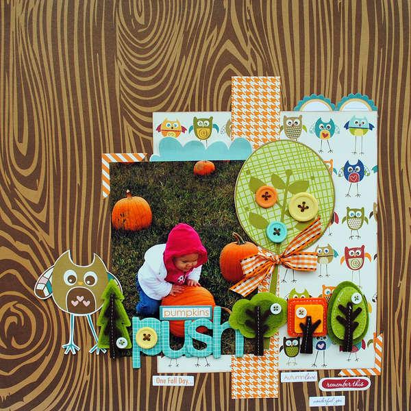 "Pumpkin Push...""My Creative Scrapbook"""