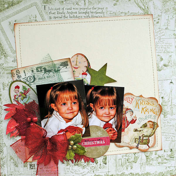 "Christmas...""My Creative Scrapbook"""