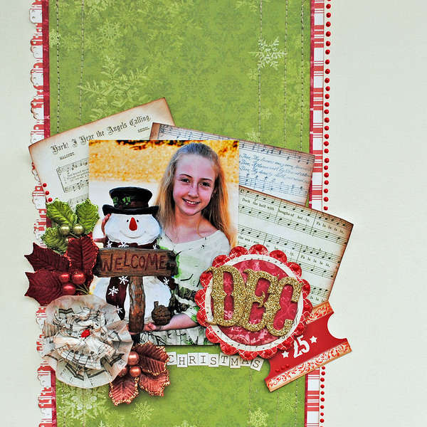 "Dec 25...""My Creative Scrapbook"""