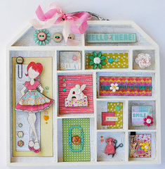 Julie Nutting Altered Doll House...