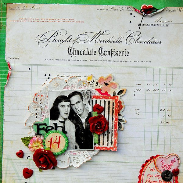 Feb 14...My Creative Scrapbook