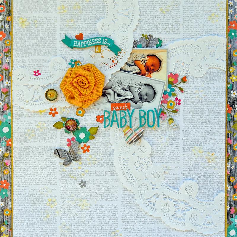 Sweet Baby Boy...My Creative Scrapbook