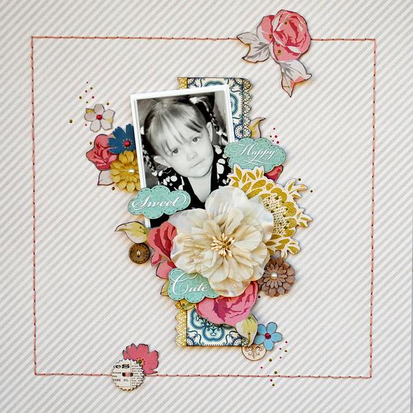 Happy, Sweet, Cute...My Creative Scrapbook