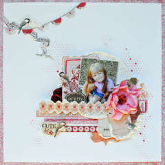 Pretty Cute...My Creative Scrapbook