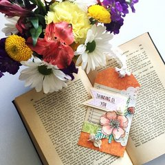 Thinking of You  Fall gift tag