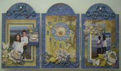 Blue Awning Clock