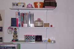 My Scrap Room Shelf Above Cricut Table