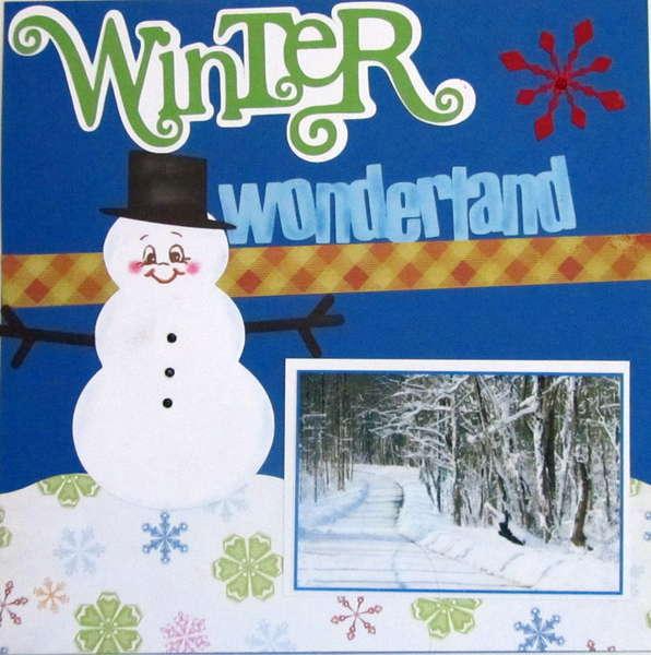 *Winter Wonderland Page 1