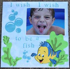 I wish I wish to be a fish...