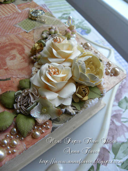 "Altered Book Box-DT ""Ooh La La Vintage Treasures"""
