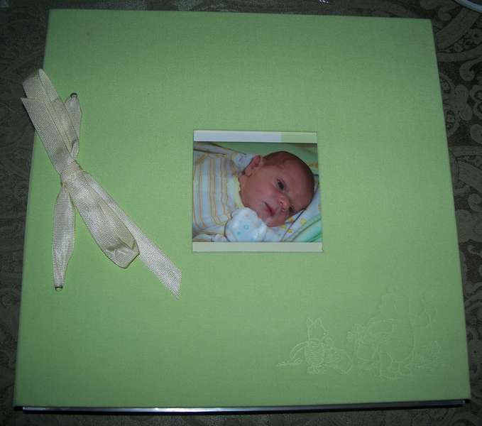 Cover of baby book